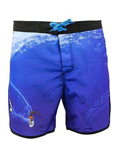 Short de bain Homme Watts Brothers Allover Malik Multicolore Multicolore