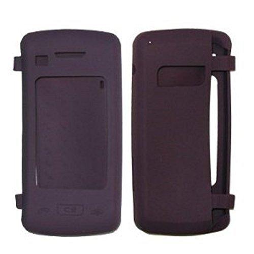 Premium Stelth lila Silikon Soft Case Cover für Verizon Wireless LG enV Touch (VX-11000) Telefon-Umständen Verpackung