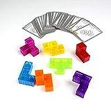 Goolsky Cubo magnético mágico 7pcs 54 Tarjetas de Guardia 108 Formas de Juguetes de Mejora de la Inteligencia del Cubo de Bricolaje para niños y niñas