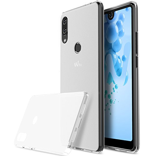 KUGI Wiko View 2 pro Hülle, Kratzfeste Hülle Wiko View 2 pro Schutzhülle Soft TPU Case Ultradünn Cover [Slim-Fit] [Anti-Scratch] [Shock Absorption] für Wiko View 2 pro Smartphone. Klar