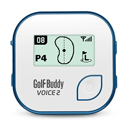 Neue Golf Buddy 'Stimme 2' Gürtelclip Golfplatz