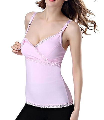 SEXYWG® Mères Essential Nursing Allaitement Vêtements de maternité Bra Tank Top