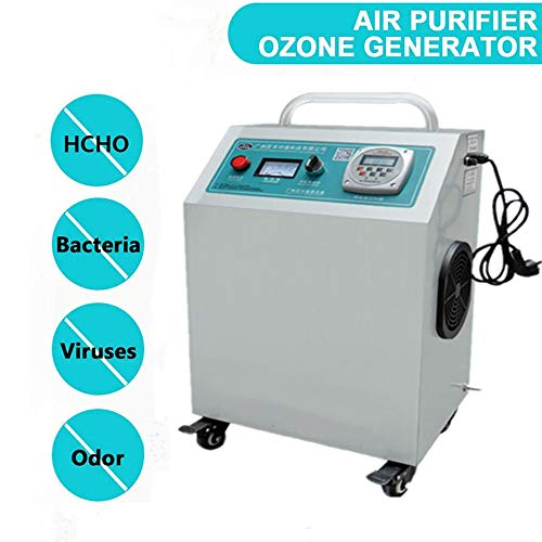 41p%2B7 C5xAL. SS500  - GXHGRASS Commercial Ozone Generator, 15000Mg/ Industrial O3 Air Purifier Deodorizer Sterilizer, Two Kinds of Timers,Light Grey