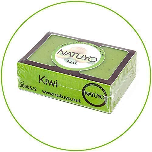 - Mascarilla jabón NATUYO Exfoliante KIWI.- Regeneración