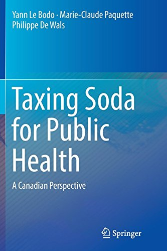 Taxing Soda for Public Health: A Canadian Perspective -