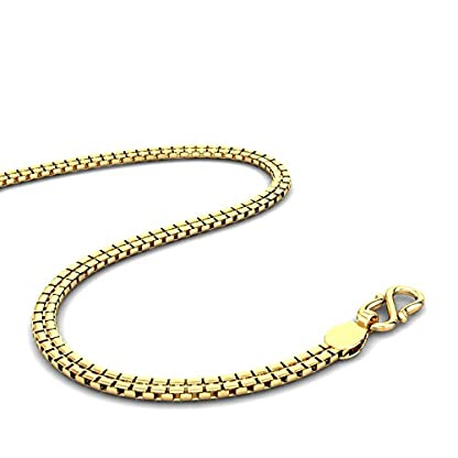 Candere By Kalyan Jewellers 22k (916) Yellow Gold Avery Chain Necklace for Men