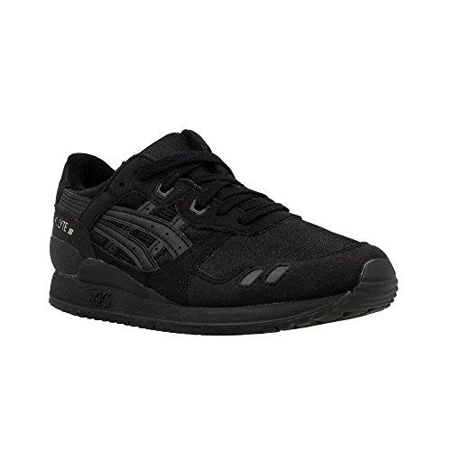 Asics Gel-Lyte Iii Gs, Scarpe da Ginnastica Unisex – Bambini Nero (Black/Black)