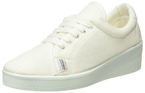 Beppi Canvas 2135184, Chaussures de sport femme Blanc