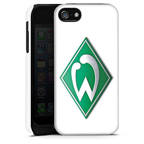 Apple iPhone 6s Silikon Hülle Case Schutzhülle Werder Bremen Fanartikel fußball Tough Case matt