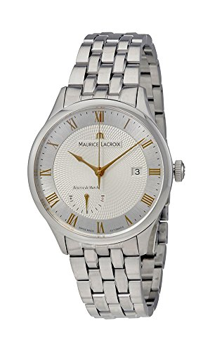 Maurice Lacroix Masterpiece Reserve de Marche Automatic Steel Mens Watch...