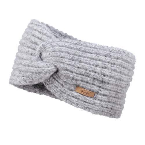 Barts Damen Desire Headband Stirnband, Grau (Heather Grey 0002), One Size (Herstellergröße: Uni)