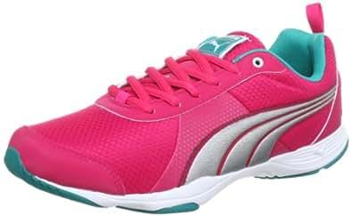 Puma Flextrainer Wn's 186755, Damen Outdoor Fitnessschuhe, Pink (virtual pink-puma silver 04), EU 38.5 (UK 5.5) (US 8)