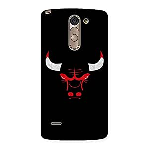Delighted Bull Multicolor Back Case Cover for LG G3 Stylus