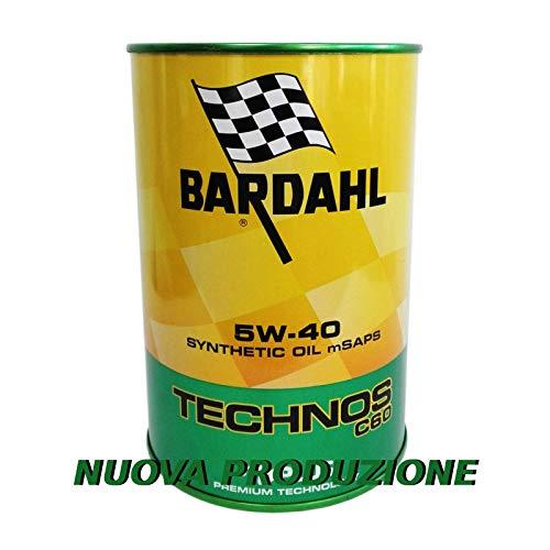Olio motore auto Bardahl Technos C60 5W40 ACEA C3 / API SN-CF - 4 Lit