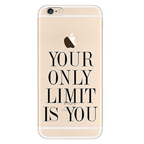 iPhone 6S Motif écritures Coque en silicone TPU Coque ultra adünnen Case pour iPhone 6/6S zt6