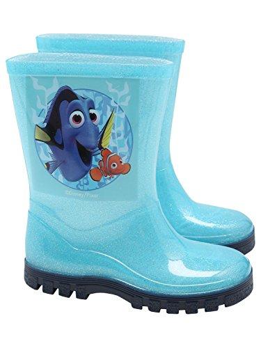 Disney - Botas de Agua de Trabajo Chica, Color Azul, Talla 21 EU/4 UK calzado...