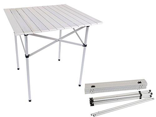 Alu Gartentisch Campingtisch Tisch Klapptisch Klappbar mit Tasche Neu #031