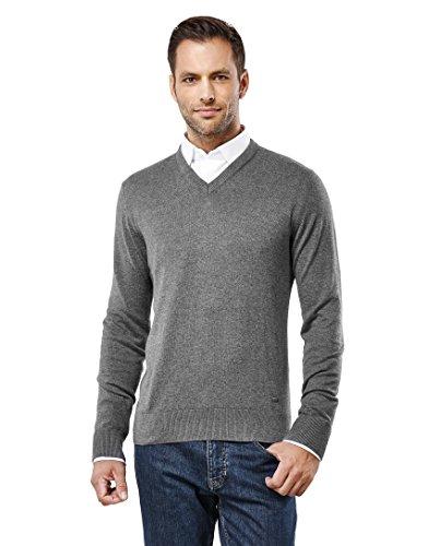 VB -  Maglione  - Basic - Maniche lunghe  - Uomo grigio XL