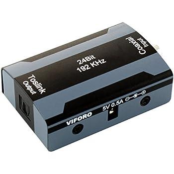 Coax zu Toslink/ SPDIF Wandler - digital Coaxial zu digital optisch Konverter
