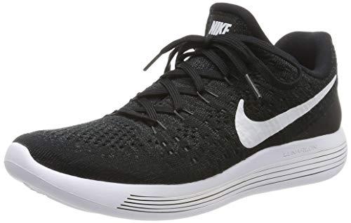 Nike Damen Lunarepic Low Flyknit 2 Laufschuhe, Schwarz (schwarz schwarz), 40 EU