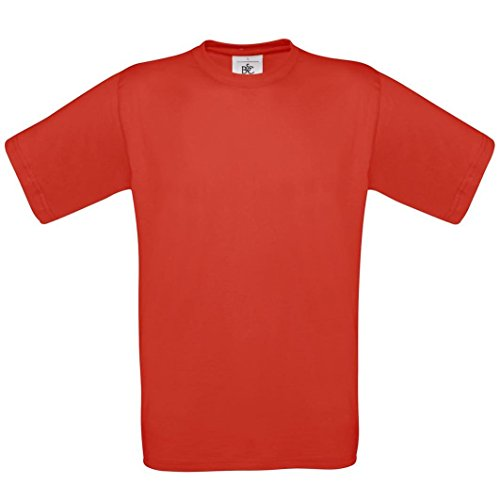 B & C Collection, Exact 190, BA190, T-Shirt Rot - Rot