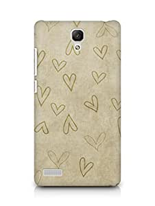 Amez designer printed 3d premium high quality back case cover for Xiaomi Redmi Note (intage s)
