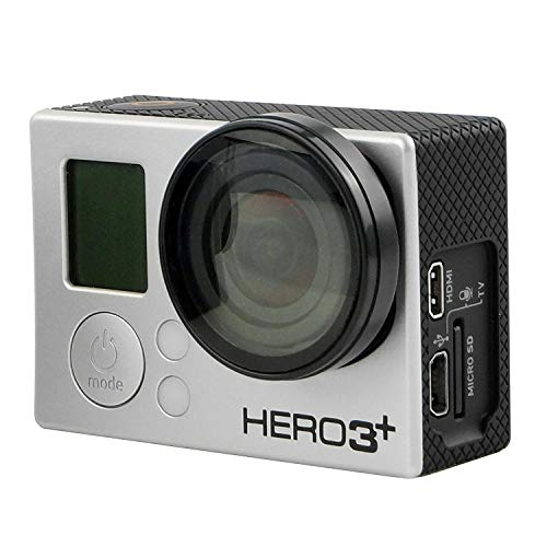 USB CamKix Montaje de Marco para GoPro Compatible con GoPro Hero 4//3//3+ Camara HDMI Ligera y Compacto para el Hogar y para Camara de Accion y SD Tragamonedas Totalmente Accesible