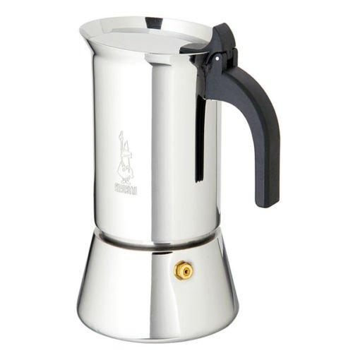 BIALETTI CAFFETTIERA INDUZIONE VENUS 6 TAZZE CAFFE ESPRESSO ACCIAIO INOX FERR 264624