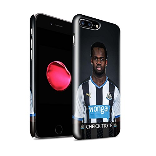 Offiziell Newcastle United FC Hülle / Glanz Snap-On Case für Apple iPhone 7 Plus / Sissoko Muster / NUFC Fussballspieler 15/16 Kollektion Tioté