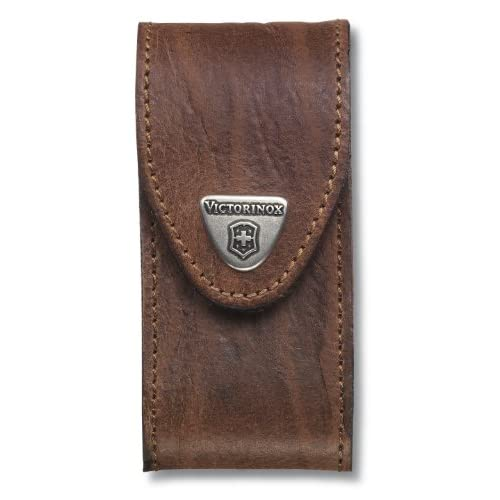 Victorinox Leather Belt Pouch – Brown, N/A