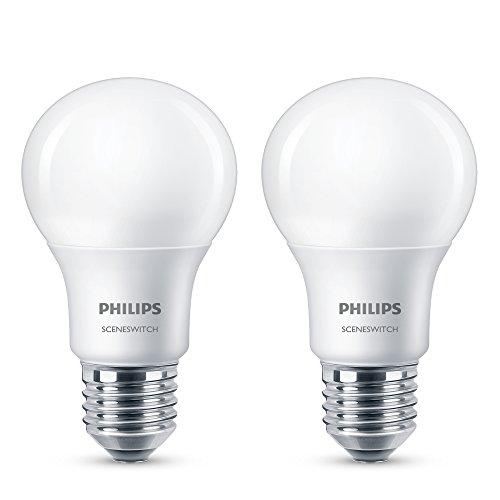 Philips 3-in-1 LED Lampe SceneSwitch ersetzt 60W, EEK A+, E27 (Matt) -