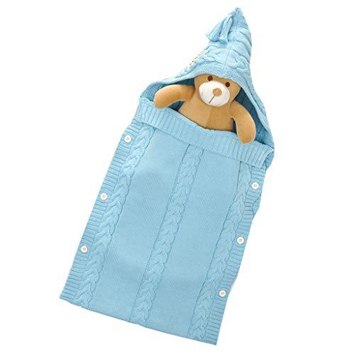 Gigoteuse bébé, automne et hiver, poussette bébé, câlin bébé en tricot de coton,B