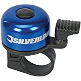 Silverline 858804 One-Touch Ping Bicycle Bell, 80 x 100 mm