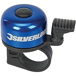 Silverline 858804 - Timbre para bicicleta 80 x 100 mm