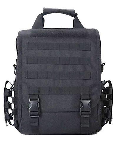 ZQ 8 L Laptop-Rucksäcke / Umhängetasche / Rucksack Camping & Wandern Draußen Multifunktions Schwarz / Braun Nylon Other digital desert
