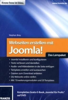 Webseiten erstellen mit Joomla!-Das Lernpaket