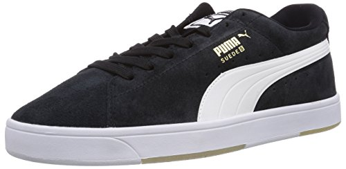 Puma - Suede S, Zapatillas De Deporte Para Hombre Black - Schwarz (negro-blanco 03)