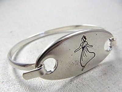 "Bracelet jonc ""Arlesienne"" finition argent 925"