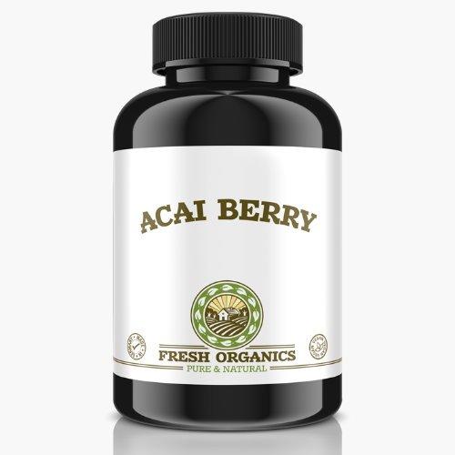 Slim Acai Berry | 120 Tabletten (vegan) | 6000mg Tagesportion | Für 40 Tage | Reines Extrakt, Detox, Fettverbrennung, Gewichtsreduktion, Stoffwechsel-Diät, Entschlackung | Premium Qulität