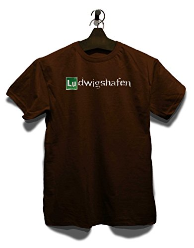 Ludwigshafen T-Shirt Braun