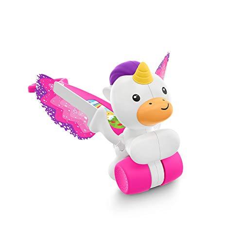 Fisher-Price - Correpasillos unicornio Andador bebés +1 año Mattel GCV72