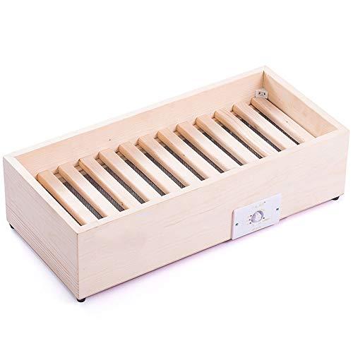 Preisvergleich Produktbild KFXL Heizung,  Kiefer Massivholz Heizung Grillen Feuerwaffen Fußwärmer Grillofen Elektrisches Feuer Barrel Grillen Füße Haushalt Grillen Feuer Box Verschiedene Größen (größe : Six People)