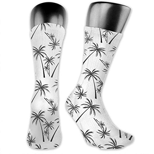 Coconut Trees Unisex Crew Socks Cute Socks Dress Socks Boot Socks Crazy Socks Dress Socks -