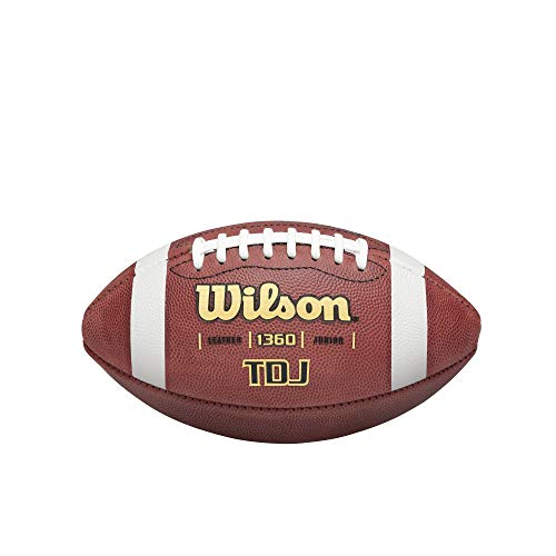 Wilson TDJ Junior Leather Game Football