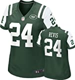 Nike New York Jets Darrelle Revis #24 Nfl Big Girls Game Jersey, Green X - Large (16) - green