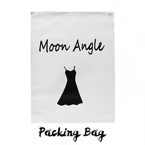 Moon Angle Damen Korsett mit Kunstleder und Brokatmuster gotischen Stil Bustier Vintage Korsage Top Steampunk Corsagen (XXL, Schwarz) - 5