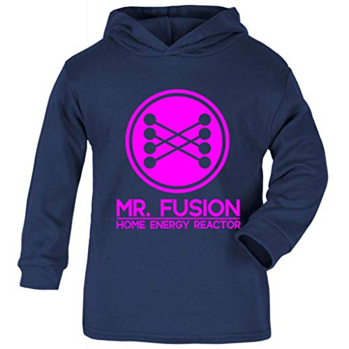 Back to The Future Mr Fusion Home Energy Reactor Baby and Kids Hooded Sweatshirt (Marty Mcfly Kostüm Kinder)