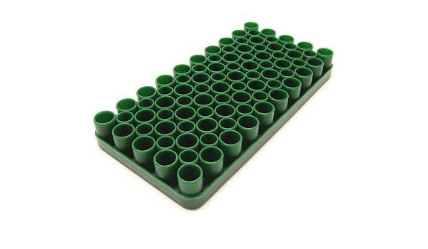 Vassoio universale porta bossoli in plastica per la ricarica