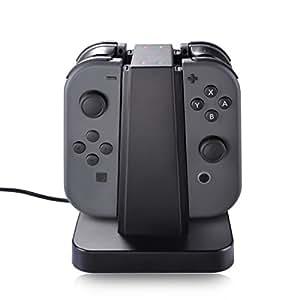 Nintendo Switch Joy Con Charger Dock Sunix 4 In 1