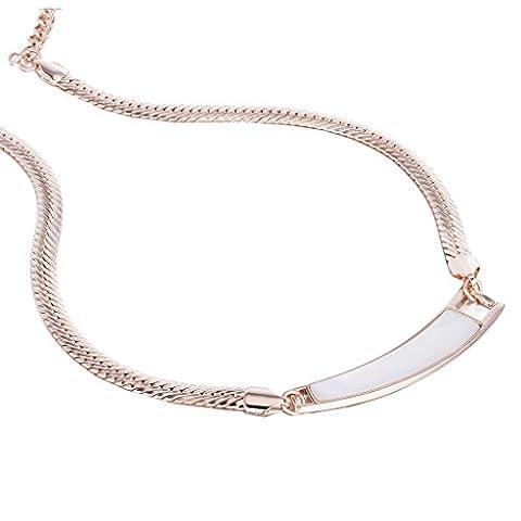 Janeo Pendants and Necklaces 14K Gold Or rose #Gold FASHIONNECKLACEBRACELETANKLET